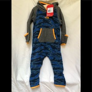North Face 12-18 month infant glacier one piece
